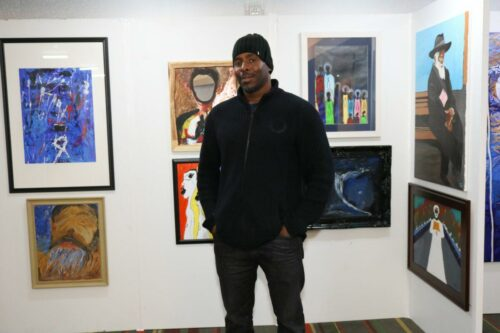 Artist Sir Christopher washington