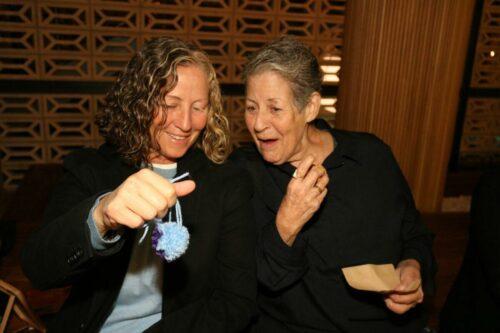 Lynda LaCentra and Irene Cangelosi
