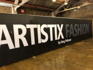 Artistix show sign