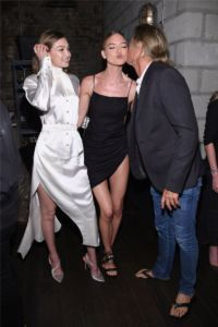 Gigi Hadid, Martha Hunt, Russell James at US Book Launch of Backstage Secrets by Russell James