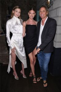 Gigi Hadid, Sara Sampaio, Russell James at US Book Launch of Backstage Secrets by Russell James