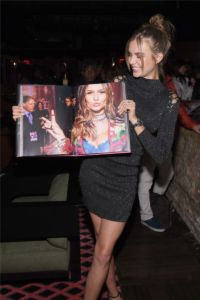 Josephine Skriver at US Book Launch of Backstage Secrets by Russell James (2)