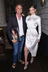 Russell James, Gigi Hadid at US Book Launch of Backstage Secrets by Russell James