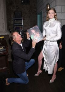 Russell James, Gigi Hadid at US Book Launch of Backstage Secrets by Russell James (2)