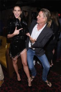 Sara Sampaio, Russell James at US Book Launch of Backstage Secrets by Russell James