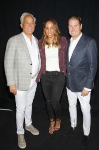 Mark Badgley, Madison Keys, James Mischka