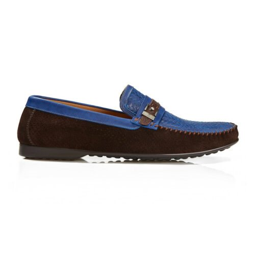 BUB Loafer Santino Fontana Brown Suede Side 4