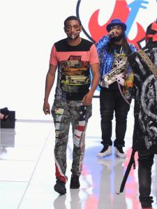 Burning Guitars clothing at Los Angeles Fashion Week SS18 Art Hearts Fashion LAFW 27