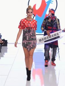 Burning Guitars clothing at Los Angeles Fashion Week SS18 Art Hearts Fashion LAFW 35
