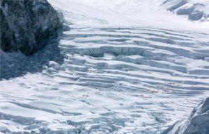 Lucía Mendoza Christian Voigt Kumbu Glacier (Camp 1)   Nepal 2017