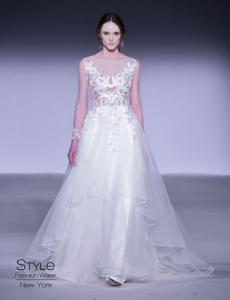 Carmen Marc Valvo FW'18 Bridal Showcase During New York Fashion Week Presented by Style Fashion Week 7