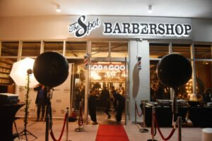 Cedric Gervais hosts The Spot Barbershop's Edgewater Grand Opening 11