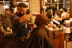 Cedric Gervais hosts The Spot Barbershop's Edgewater Grand Opening 37