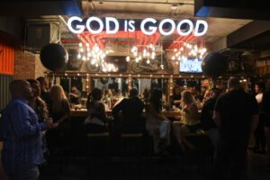 Cedric Gervais hosts The Spot Barbershop's Edgewater Grand Opening 43