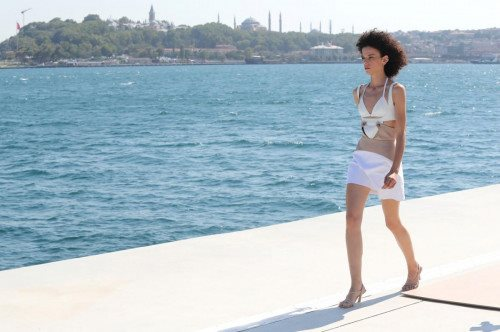 Ceren Ocak Runway Show - Mercedes-Benz Fashion Week Istanbul