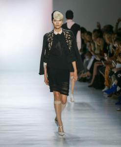 Chocheng Fashion Show at NYFW Spring Summer 2018 49