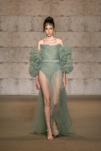 Cihan Nacar Runway Show - Mercedes-Benz Fashion Week Istanbul