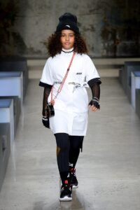 Coco Rocha and Her Mini Walk The Runway For ANTA Kids SS20 Collection