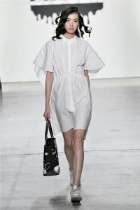 Comme Tu Es by Jia Liu at New York Fashion Week SS2018 Collection 21