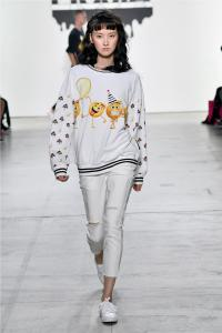 Comme Tu Es by Jia Liu at New York Fashion Week SS2018 Collection 35
