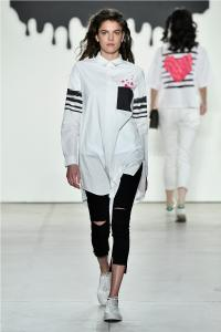 Comme Tu Es by Jia Liu at New York Fashion Week SS2018 Collection 37