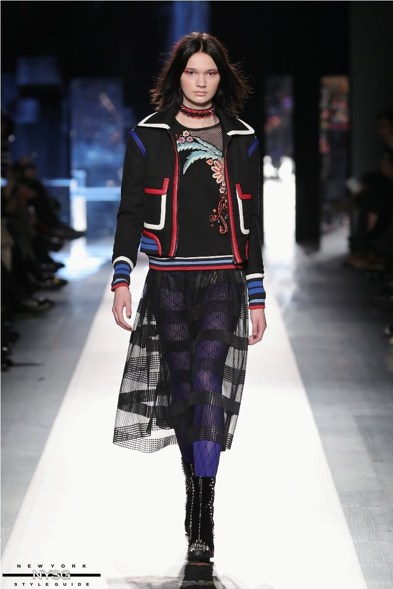Desigual Collection At New York Fashion Week February 2017