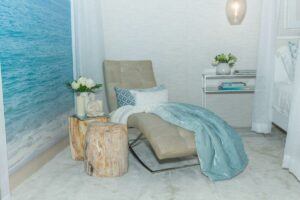 DLT Interiors Designs Custom Vignette for Roxanne Vargas at Home Show