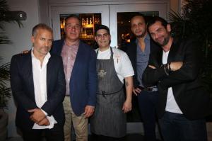 Laurent Fraticelli, Karl Waney, Carlos Estarita, Karim Elkrim, & Arnaud Espineira