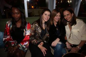 Lugini Marie Zimmerman, Corina Capriles, Santi Chumaceiro, & Solita Cohen