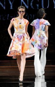 Danny Nguyen at New York Fashion Week NYFW Art Hearts Fashion SS/18 25