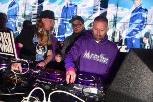 Marcelo Burlon DJing