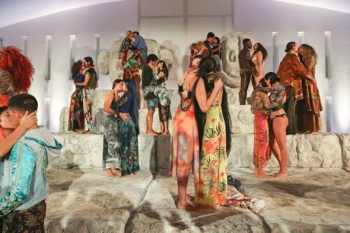 Desigual launches LOVE DIFFERENT campaign with seduction, kisses & climax