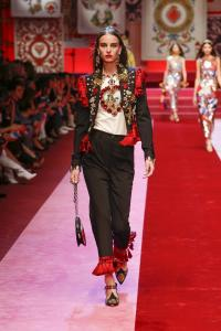 Dolce&Gabbana women's fashion show Spring Summer 2018 runway (102)