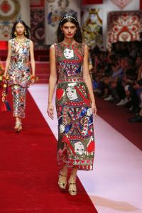 Dolce&Gabbana women's fashion show Spring Summer 2018 runway (103)