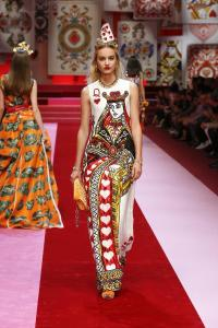 Dolce&Gabbana women's fashion show Spring Summer 2018 runway (106)