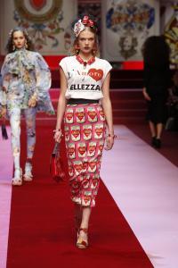 Dolce&Gabbana women's fashion show Spring Summer 2018 runway (14)