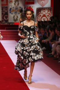 Dolce&Gabbana women's fashion show Spring Summer 2018 runway (16)