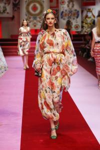 Dolce&Gabbana women's fashion show Spring Summer 2018 runway (17)