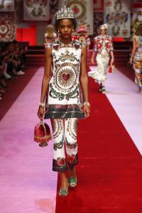 Dolce&Gabbana women's fashion show Spring Summer 2018 runway (21)