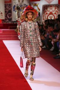 Dolce&Gabbana women's fashion show Spring Summer 2018 runway (25)