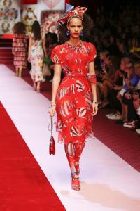 Dolce&Gabbana women's fashion show Spring Summer 2018 runway (34)