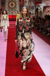 Dolce&Gabbana women's fashion show Spring Summer 2018 runway (35)