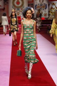 Dolce&Gabbana women's fashion show Spring Summer 2018 runway (38)