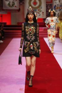 Dolce&Gabbana women's fashion show Spring Summer 2018 runway (39)