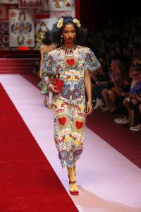 Dolce&Gabbana women's fashion show Spring Summer 2018 runway (40)