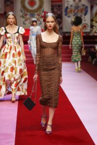 Dolce&Gabbana women's fashion show Spring Summer 2018 runway (41)