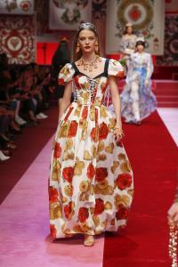 Dolce&Gabbana women's fashion show Spring Summer 2018 runway (42)