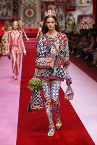Dolce&Gabbana women's fashion show Spring Summer 2018 runway (44)