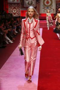 Dolce&Gabbana women's fashion show Spring Summer 2018 runway (45)