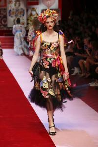Dolce&Gabbana women's fashion show Spring Summer 2018 runway (46)